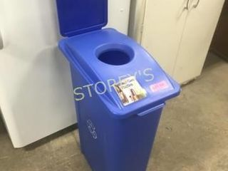 Blue Recycle Station   11 x 20 x 32