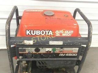 Kubota AV 4500 Gas Generator