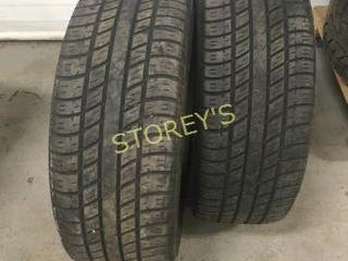 2 UniRoyal 205 55R16 Tires