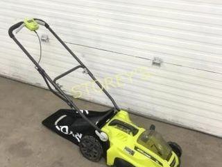 Ryobi 40V lithium 16  Elec  lawn Mower