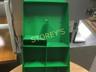 Green Organzing Rack