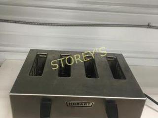 Hobart 4 Slice Commercial Toaster   ET 27 12