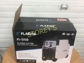 Flaring Fl550 Plasma Cutter   unknown condition