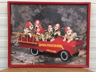 Puppy Firefighter Picture