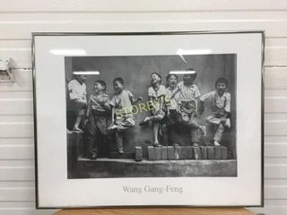 Wang Gang Feng Framed Picture