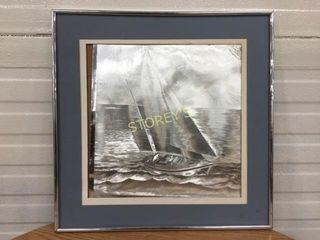 Sailboat Framed Picture