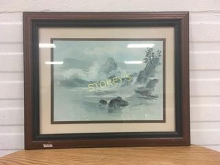 Framed Waters Picture
