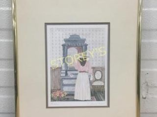Framed Signed Picture
