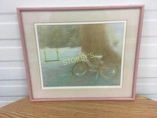 Bicycle Picture   signed