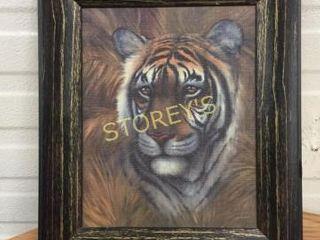 Framed Tiger Picture