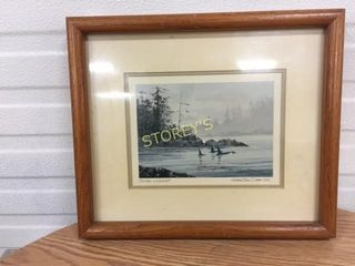 Signed lake Picture