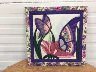 Crochet Butterfly Picture