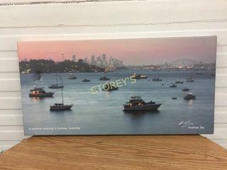 Canvas Harbour Picture