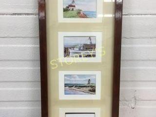 Framed light House Picture