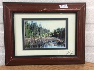 Signed Marsh Picture