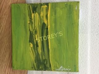 Green Canvas Picture