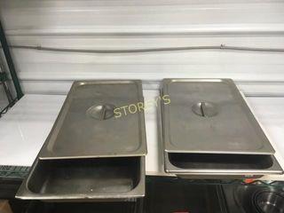2 Full Size Inserts w  lids