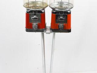 ORIGINAl BEAVER DOUBlE HEAD BUBBlE GUM MACHINE