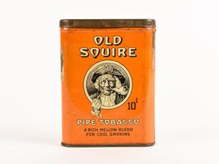 OlD SQUIRE PIPE TOBACCO 10 CENT POCKET POUCH