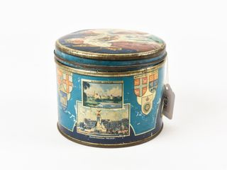 HUNTlEY   PAlMERS BAlMORAl BISCUITS 9 OZ  TIN