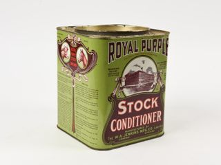 VINTAGEROYAl PURPlE STOCK CONDITIONER 8 5 lBS  CAN