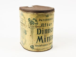 PATERSON S AFTER DINNER MINTS TIN