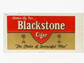 BlACKSTONE CIGAR  BETTER BY FAR  SST SIGN