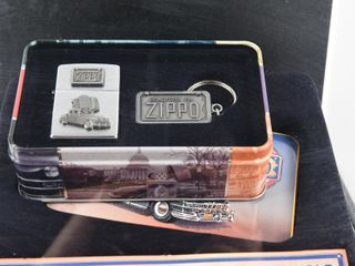 1998 ZIPPO lIMITED EDITION COllECTIBlE   CASE  KEY