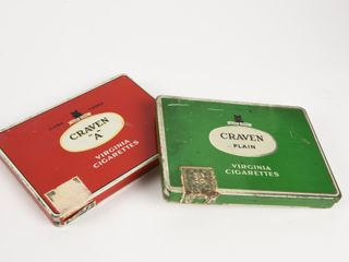 GROUPING 2 CRAVEN TOBACCO FlAT 50 S