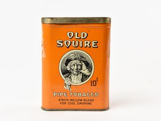 OlD SQUIRE 10 CENT PIPE TOBACCO POCKET POUCH