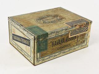 HAVANA RIBBON 50 CIGAR TIN BOX
