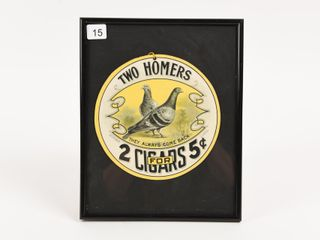 RARE TWO HOMERS 2 CIGARS FOR 5 CENT D S DANGlER