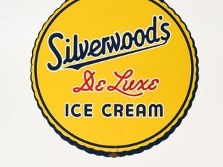 SIlVERWOOD DElUXE ICE CREAM DSP DIECUT SIGN