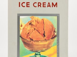 BISSET S ICE CREAM POSTER STYlE ADVERTISING