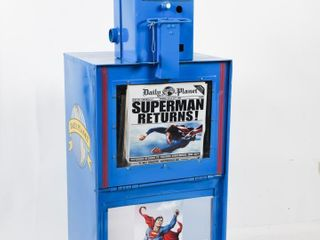 NEWSPAPER BOX  PAINT   DECAl DAIlY PlANET