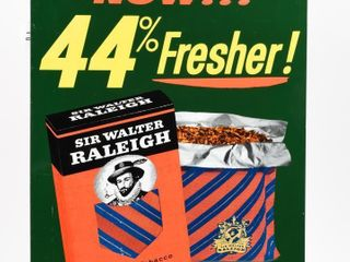 SIR WAlTER RAlEIGH POUCH PACKED SST SIGN
