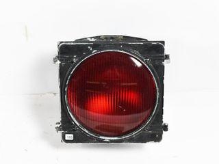 VINTAGE TRAIN SIGNAl RED WARNING lIGHT