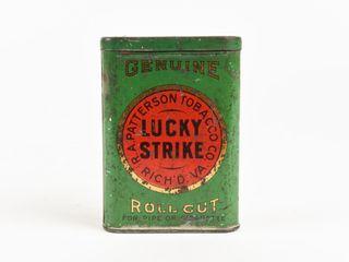 GENUINE lUCKY STRIKE ROll CUT TOBACCO POCKET POUCH