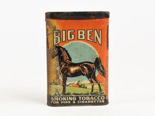 BIG BEN SMOKING TOBACCO SPECIMEN POCKET POUCH