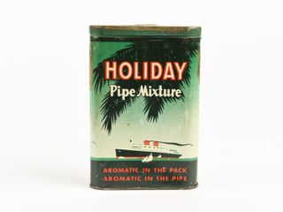 HOlIDAY PIPE MIXTURE TOBACCO POCKET POUCH