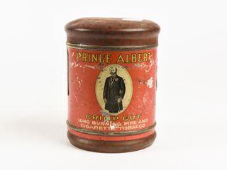 PRINCE AlBERT CRIMP CUT TOBACCO CANISTER