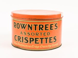 ROWNTREE S ASSORTED CRISPETTES CANDY 10 POUND TIN