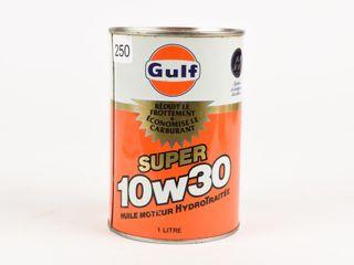 GUlF SUPER 10W30 MOTOR OIl lITRE CAN