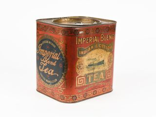 VINTAGE IMPERIAl BlEND TEA TIN