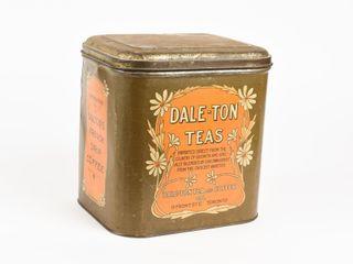 VINTAGE DAlE TON TEAS CANISTER