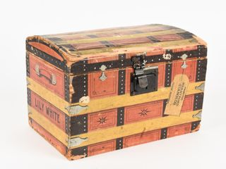 BRANTFORD STARCH lIlY WHITE 6 lBS WOODEN CRATE