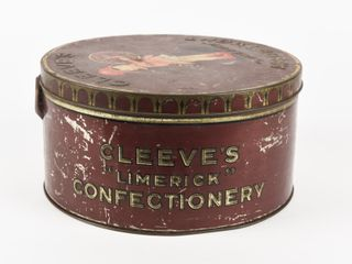 ClEEVE S ASSORTED lIMERICK CONFECTIONERY TIN