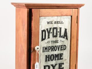WE SEll DY O lA HOME DYE WOODEN DISPlAY CABINET