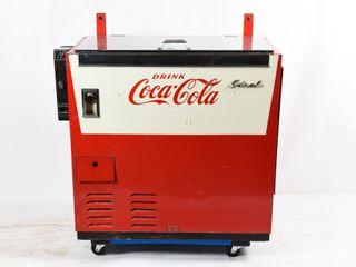 IDEAl COCA COlA FlOOR MODEl 30 CENT MACHINE