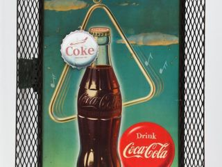 COME AND GET IT DRINK COCA COlA CARDBOARD POSTER